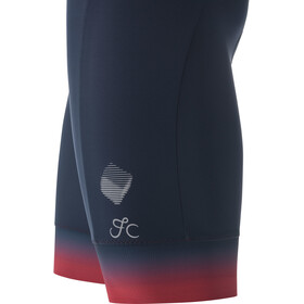GORE WEAR Cancellara+ Bib Shorts Men, niebieski